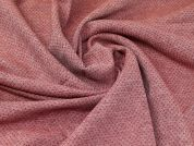 Stitched Coating Fabric  Rose Pink