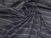 Rayon Shirting Fabric  Black