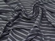 Stretch Bengaline Fabric  Grey