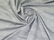 Textured Knit Fabric  Grey