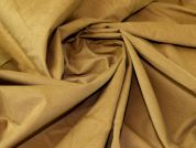 Cotton Needlecord Fabric  Camel