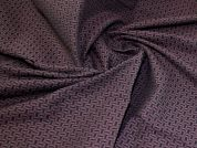 Stretch Jacquard Fabric  Plum