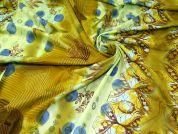Cotton Lawn Fabric  Olive Green