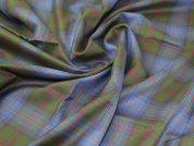 Wool Suiting Fabric  Multicoloured