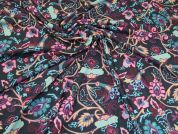 Polyester Jersey Fabric  Multicoloured