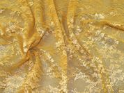 Lurex Lace Fabric  Gold