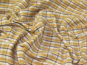 Stripe Coating Fabric  Mustard