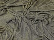 Lurex Jersey Knit Fabric  Gold