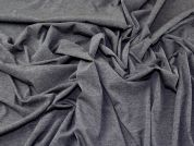 Single Jersey Knit Fabric  Grey