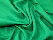 Quilted Suiting Fabric  Emerald Green