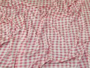 Viscose Jersey Knit Fabric  Pink