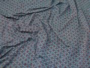 Viscose Jersey Knit Fabric  Teal