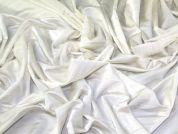 Slinky Jersey Knit Fabric  Cream