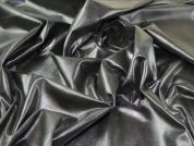 Distressed Foil Fabric  Silver