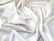 Stretch Cotton Velvet Fabric  Ivory