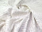 Wool Blend Coating Fabric  Ivory