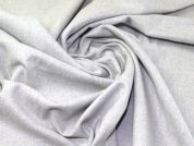 Wool Blend Coating Fabric  Silver Grey