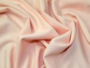 Textured Jersey Knit Fabric  Peach