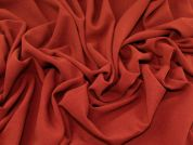 Stretch Crepe Suiting Fabric  Ginger