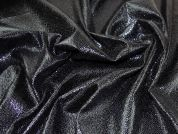 Coated Wool Blend Coating Fabric  Black