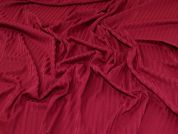 Cotton Rib Knit Fabric  Plum