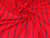 Viscose Jersey Knit Fabric  Raspberry