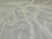 Stretch Lace Fabric  Cream