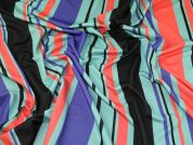 Scuba Crepe Knit Fabric  Multicoloured