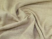 Wool Blend Coating Fabric  Ecru