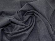 Wool Blend Coating Fabric  Navy Blue
