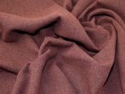 Wool Blend Coating Fabric  Maroon