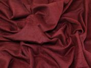 Wool Blend Coating Fabric  Wine