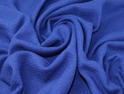 Wool Blend Coating Fabric  Royal Blue