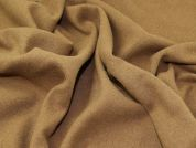 Wool Blend Coating Fabric  Camel