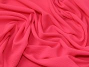 Textured Surface Stretch Jersey Knit Dress Fabric  Flo Pink