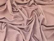 Textured Surface Stretch Jersey Knit Dress Fabric  Rose Beige