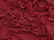Plain Supersoft Stretch Viscose Jersey Knit Dress Fabric  Wine