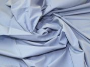 Washed Crinkled Effect Woven Dress Fabric  Blue
