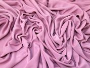 Plain Drapey Stretch Jersey Knit Dress Fabric  Pink