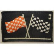 Flags Patch Motif  Multicoloured