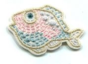 Fish Patch Motif  Multicoloured