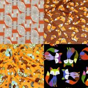 Foxes Fat Quarter Fabric Pack