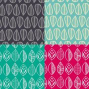 Leaves Fat Quarter Fabric Pack