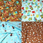 Monsters Fat Quarter Fabric Pack