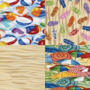 Beach Fat Quarter Fabric Pack