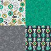 Botanical Fat Quarter Fabric Pack