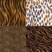 Animal Print Fat Quarter Fabric Pack