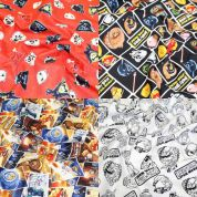Angry Birds Star Wars Fat Quarter Fabric Pack