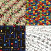 Games & Puzzles Fat Quarter Fabric Pack