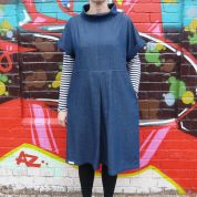 MIY Collection Ladies Easy Sewing Pattern The Fullwood Pull On Shift Dress